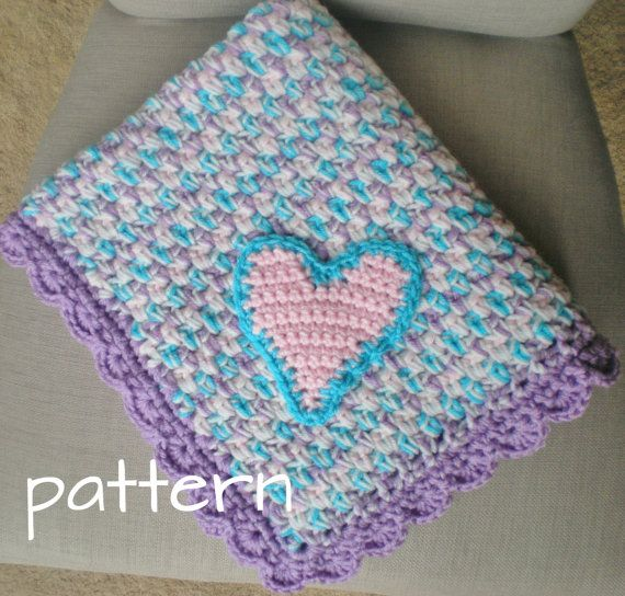 Crochet Baby Blanket Set with Hat and Baby Slippers Perfect for ...