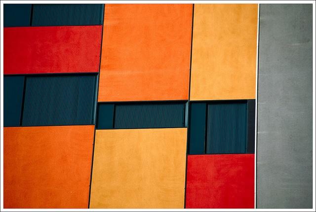 Facade of a building in Avila, Castille and Leon, Spain (2012). Photo by Hidetora, via Flickr