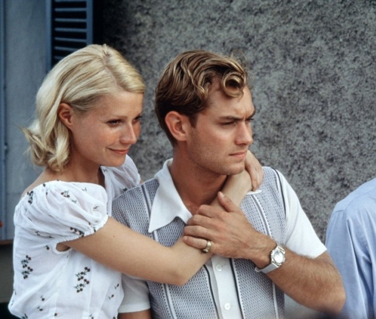 Jude Law and Gwyneth Paltrow in The Talented Mr. Ripley