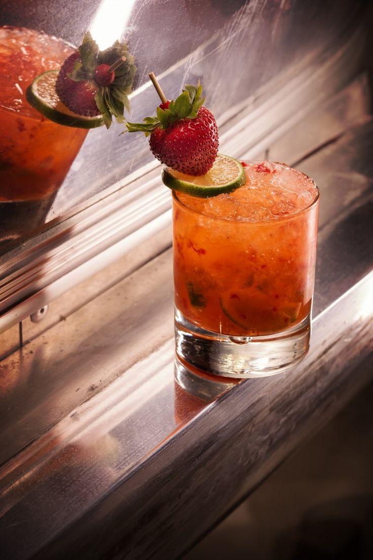 The Still's Strawberry Caiprinha