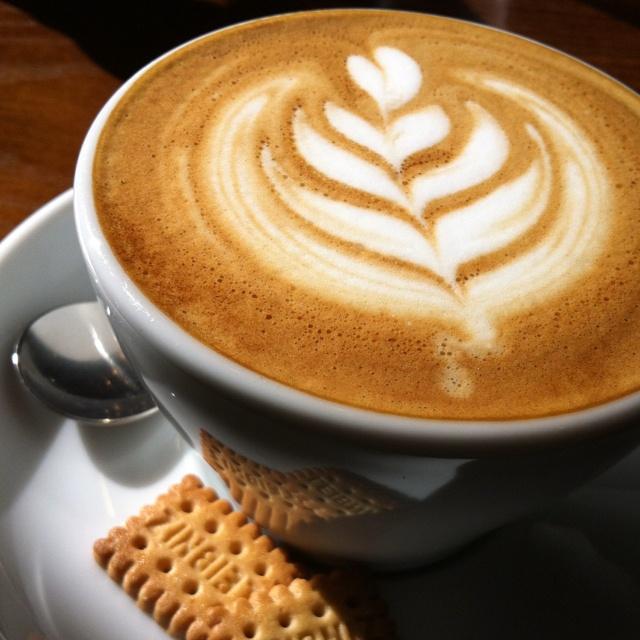 Cappuccino at Amameria Espresso.  TOKYO JAPAN.