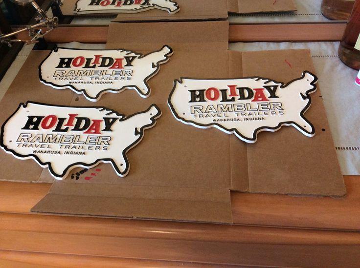 Holiday Vacationer Travel Trailer