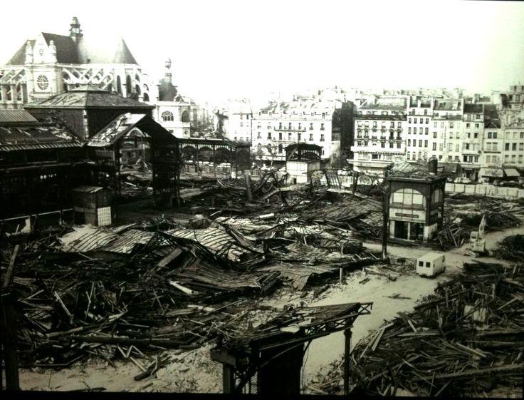 Les 147 meilleures images propos de les anciennes halles de paris sur pinte - Les halles paris ouverture ...