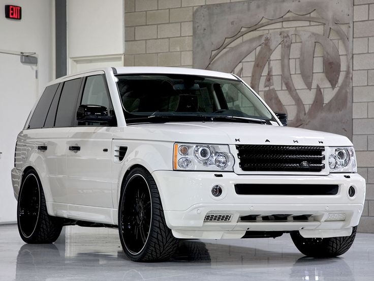 "range rover custom | ... Range Rover Sport with a perfect combo of 24"" Breden Forged wheels to"