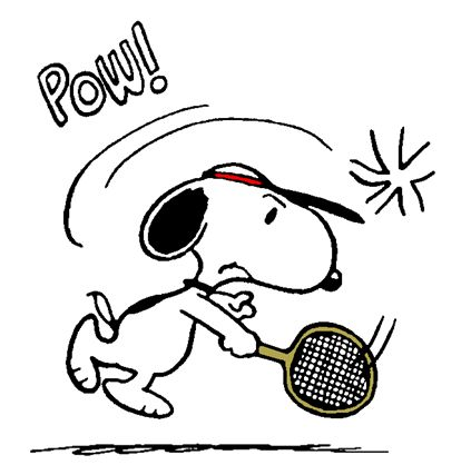 Snoopy - The World Famous Tennis Player