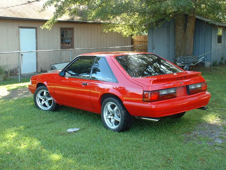 1993 Ford Mustang LX 5.0 Hatchback