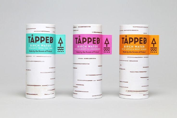 TÅPPED Birch Water — The Dieline - Branding
