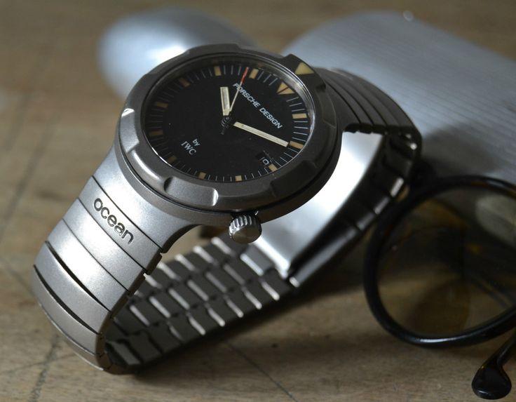 IWC PORSCHE DESIGN OCEAN 2000 TITANIUM automatic ref. IW3504 vintage diver watch | Uhren & Schmuck, Armband- & Taschenuhren, Armbanduhren | eBay!