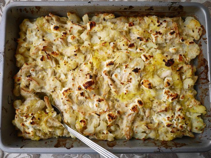 Creamy Spaghetti Squash Chicken Casserole http://www.perchancetocook.com/2014/07/21/my-spaghetti-squash-chicken-casserole-paleo/