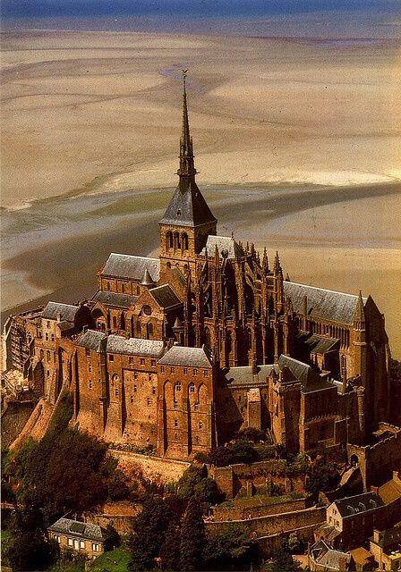 Mont Saint-Michel, France                                                       …