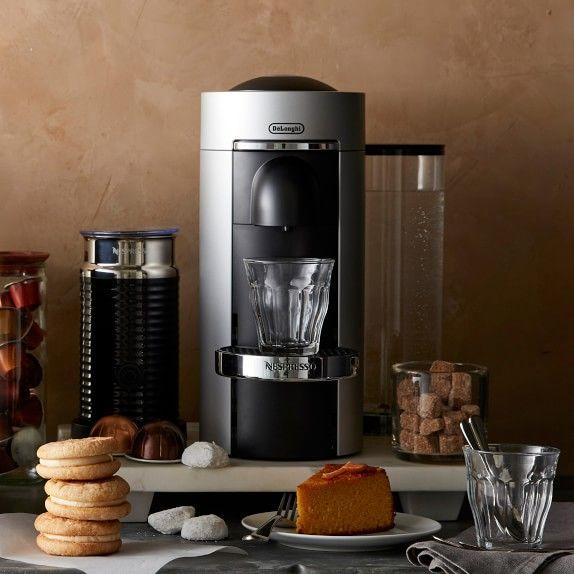 Nespresso Vertuoplus Deluxe Coffee Maker Espresso Machine Williams Sonoma Nespresso Cappuccino Machine Coffee And Espresso Maker