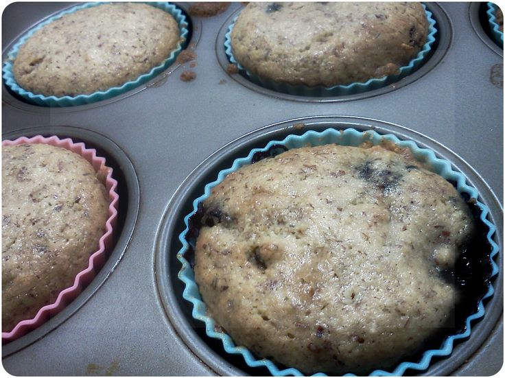 FODMAP Friendly and Fit: Blueberry Almond Meal Muffins