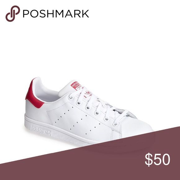 Awesome Adidas Shoes Adidas Stan Smith Sneaker Pink \u0026 white. Actually it\u0027s big  kid so