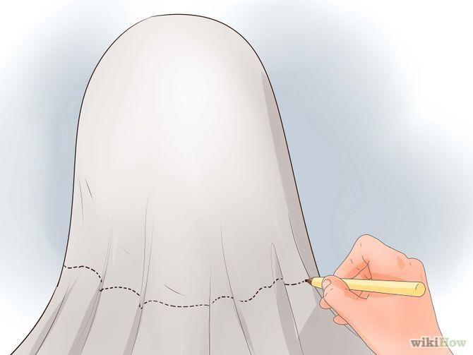 Faire un costume de fantome sans t te make a ghost costume step 10 d guisements pinterest - Idee de deguisement sans acheter ...