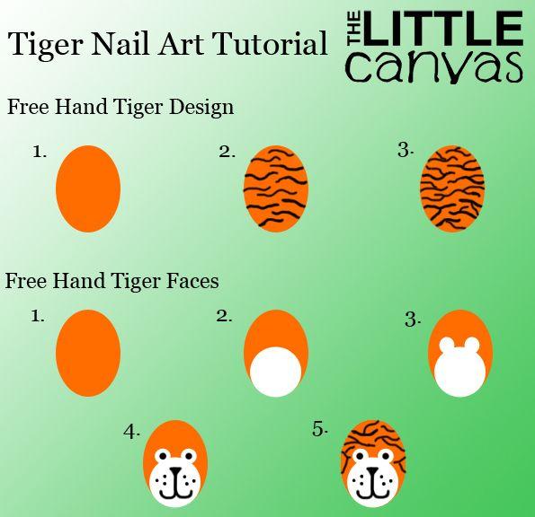 Tiger Nail Art Re-Visited