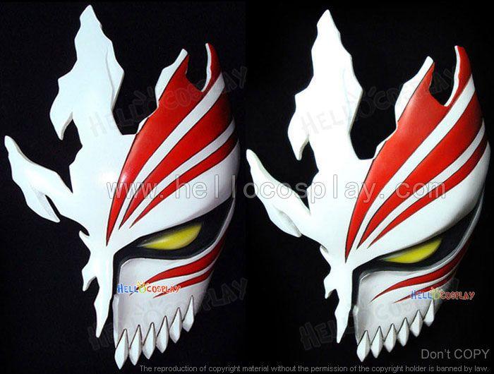 Bleach Kurosaki Ichigo Hollow Mask - £108.84 : Cosplay UK Store   Hello Cosplay