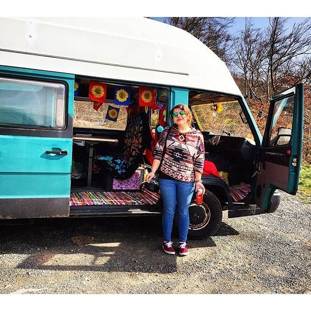 Every since day I fall in love with a new van. This is @louilalou and Pummeluff in Germany. #vancrush #vanlife #campervan #vanlifediaries #homeiswhereyouparkit