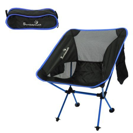 Camping Chairs,Sunbayouth Portable Folding Camping Beach Chair with Carry Bag