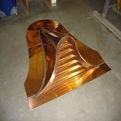 Bell Top Copper Dormer Roof Vents