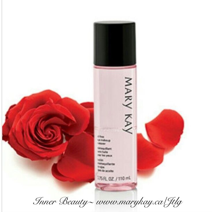 Oil free eye makeup remover. I love this product and so do my eye lashes... Inner Beauty~ www.marykay.ca/Jtlg