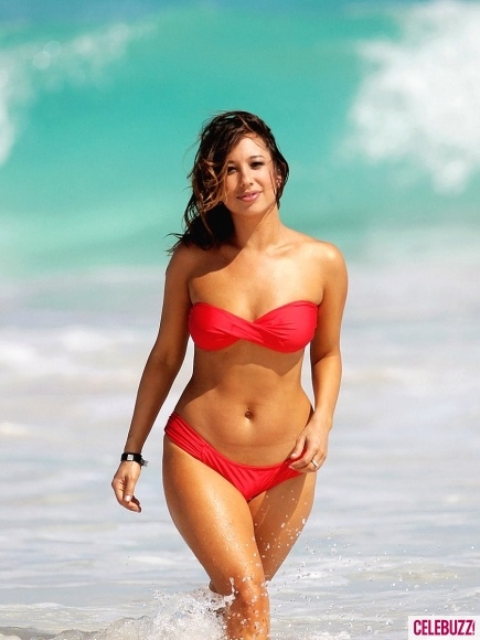 Cheryl Burke Shows Off Her Bikini Body