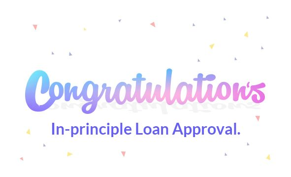 In Principle Loan Approval Letter Psb Loans In 59 Minutes Lettering Principles Congratulations