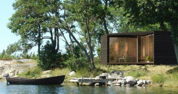 Fertighaus holz bungalow  Fertighaus Holz und Blockhäuser Holzbungalow palmen | Future home ...