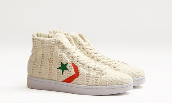#Concepts x #Converse Pro Leather 'Aran Sweater' #sneakers
