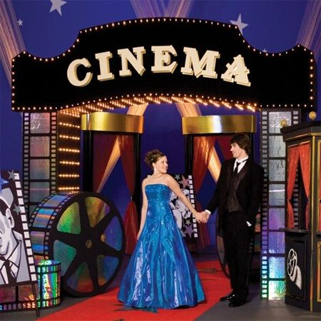 Opening Night Cinema Arch Kit Prom ThemesMovie ThemesHollywood Party Hollywood Themed PartiesHollywood
