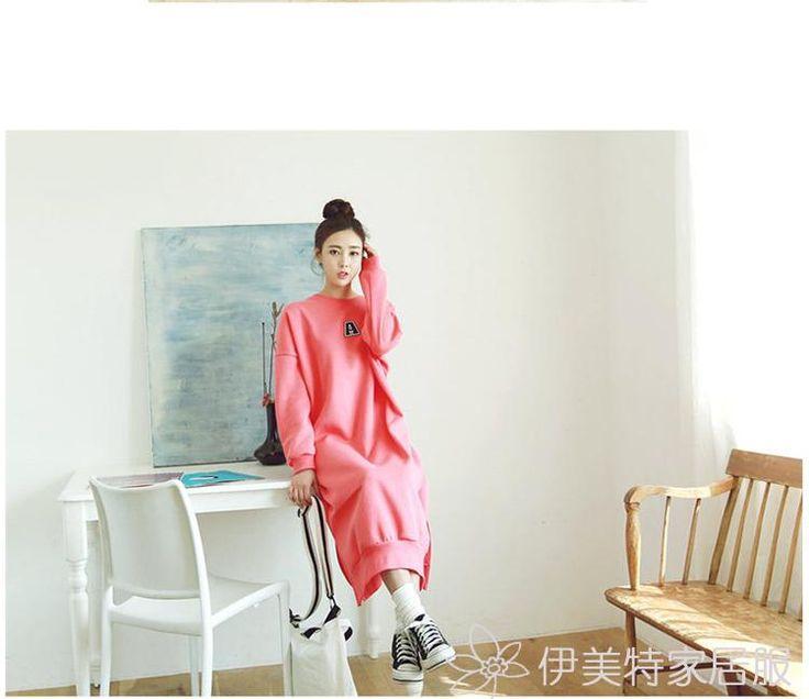 Freies verschiffen Herbst sleepwear weiblicher 100% langhülse baumwolle mittel lange rosa spitze plus size nightgownaufenthaltsraum in ProduktdetailsGröße InformationenBeachten Sie: die folgenden Informationen ist nur als Referenz. Kontaktieren Sie bitte aus Nachthemden & Sleep auf AliExpress.com   Alibaba Group