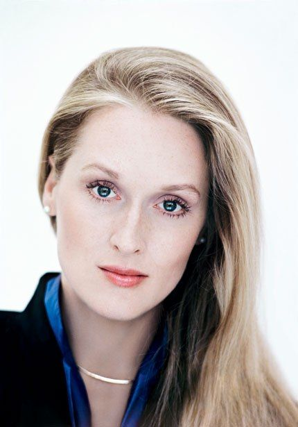 makeup on a young meryl streep