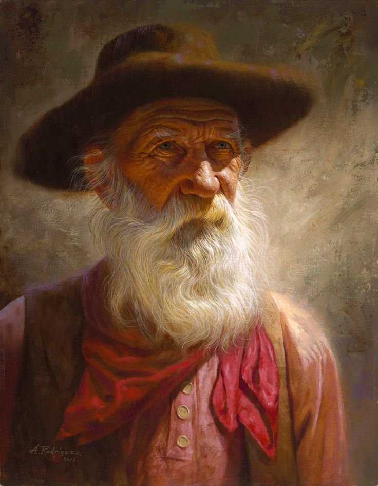 Old Westerner by Alfredo Rodriguez