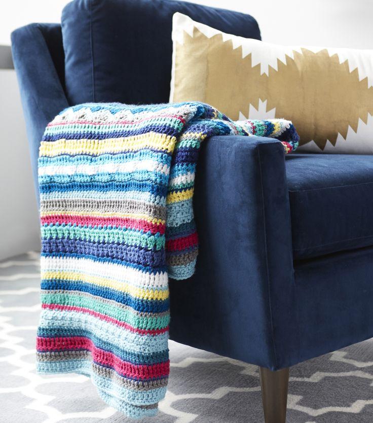 Creativebug-Crochet a Southwestern Throw
