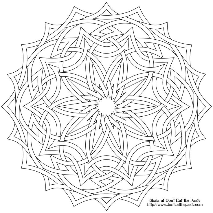celtic mandala coloring pages - the 25 best celtic mandala ideas on pinterest celtic
