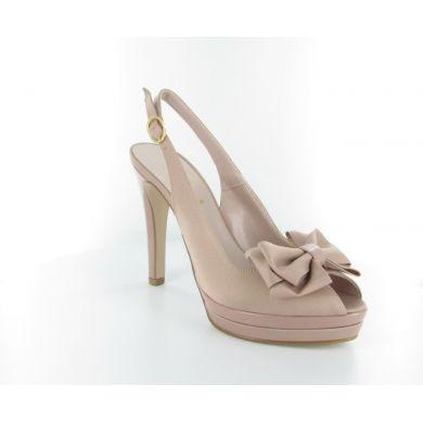 Sandalo in tessuto sintetico by Naemj #scarpe #donna #italianshoes