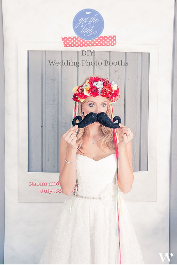 Photo booths are a great way to entertain your guests. Here are the essential items needed to set-up your own DIY- photo booth.