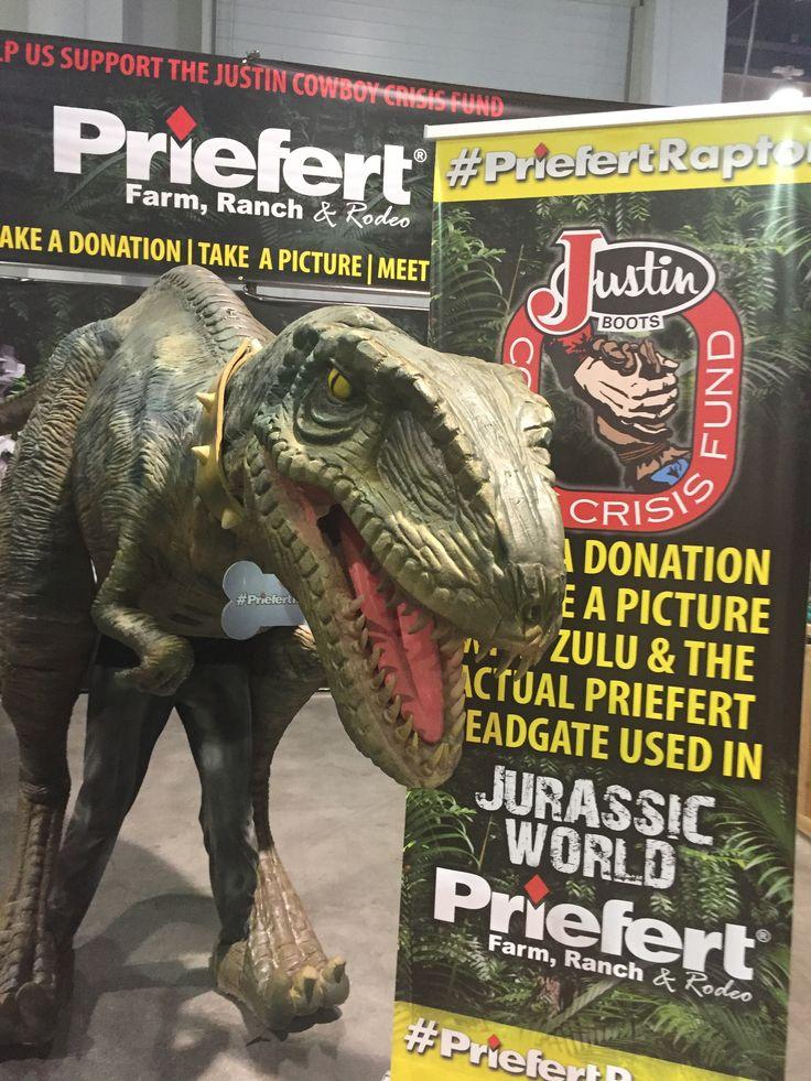 Priefert's Raptor Zulu contributing to Justin Cowboy Crisis Fund!