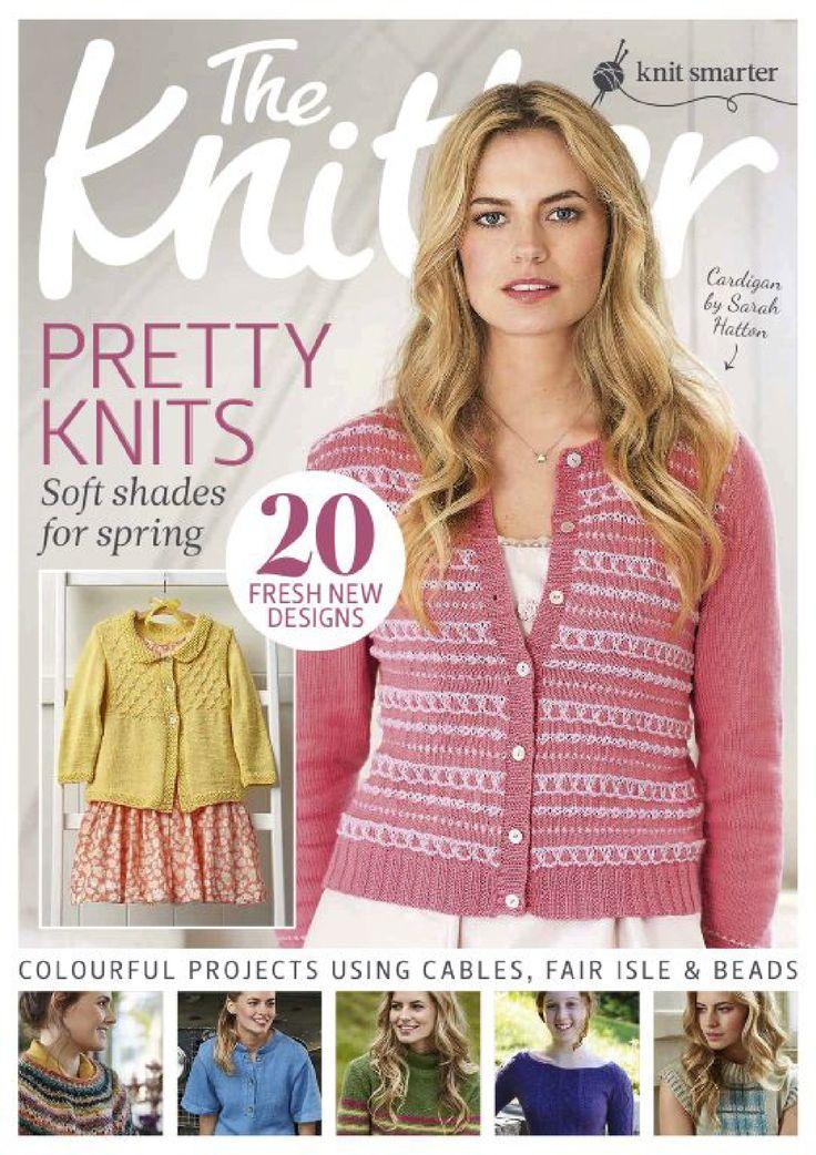 The knitter 83 Capelette en Noro Noppes au crochet
