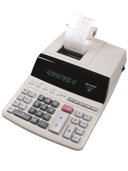 Neu in unserem Onlineshop: Sharp EL-2607PG druckender Tischrechner 12-stellig