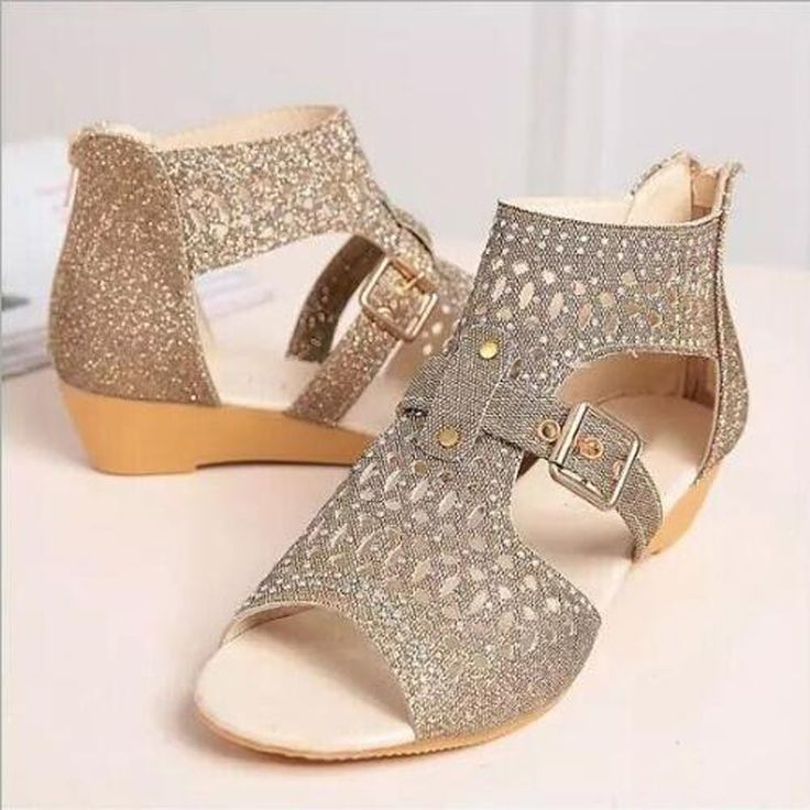 Cheap sandalias mujer, Buy Quality fashion women sandals directly from China women fashion sandals Suppliers: Women sandals 2017 new arrival  high quality PU gladiator sandals women fashion crystal zip casual wedges sandalias mujer