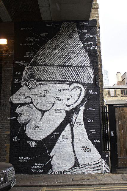RUN. #run http://www.widewalls.ch/artist/run/ #street_art #urban_art #mural #wall_painting