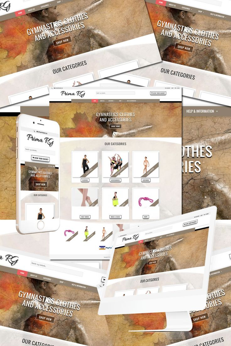 The New Website for Prima RG Gymnastic Clothing in London https://hostcat.co.uk/project/prima-rg-london/