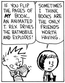 Image result for school memes of calvin and hobbes
