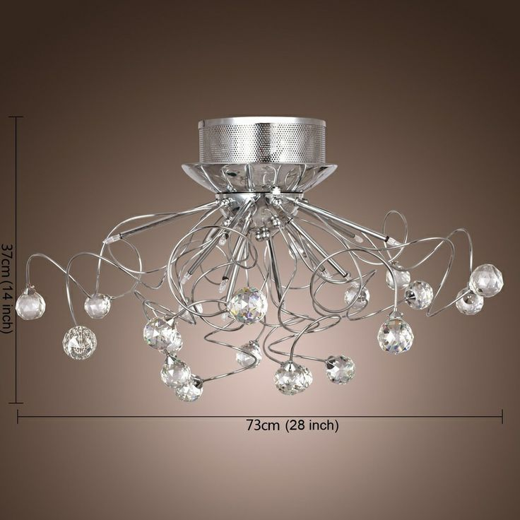 Lightinthebox modern crystal chandelier with 11 lights your home needs chandelier