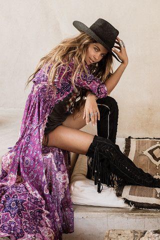 Kiss the Sky Gown - Violet #concertoutfits