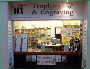 Llanelli Trophy Shop, Sports Trophies, Shield Awards | Rook's Trophies