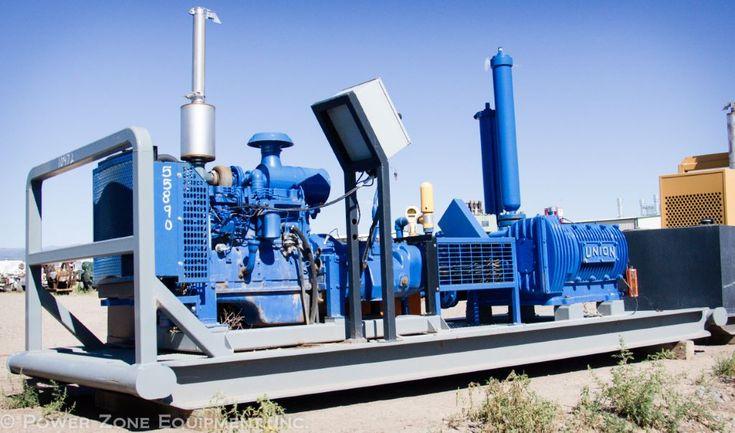 Rebuilt Union TX-90 Triplex Pump Package For Sale - Stock No 52203