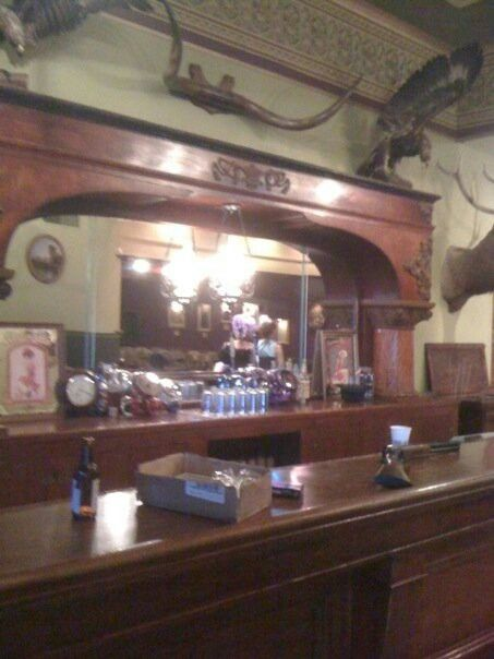 Bar from the long Branch Saloon in Dodge City