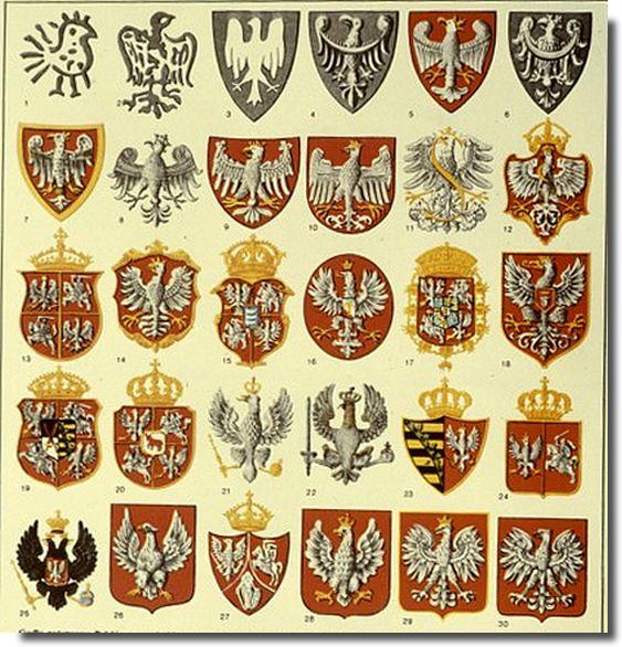 Herb Polski na przestrzeni wieków