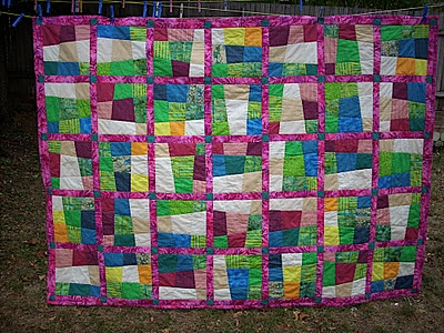 29 best Quilts -- Crazy 9 Patch images on Pinterest | Patches ... : crazy nine patch quilt pattern - Adamdwight.com